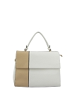 7240 - Wholesale Color Block Top Handle Briefcase Handbag