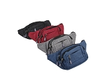 836-Wholesale Canvas Fanny Pack 10 Piece Bundle