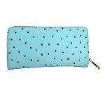 9827-3 - Wholesale Ostrich Print Wallet