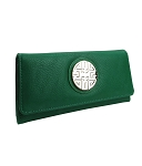 9840 - Wholesale Tri-Fold Wallet with Emblem