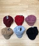 HW3047 - Wholesale Newsboy Caps Winter Hat with Warm Fleece Lined