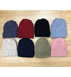 HW3064 - Wholesale Knit Fleeced Winter Hat