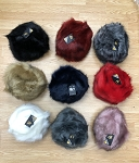 HW3095 - Wholesale Women's Faux Fox Fur Russian Cossack Ski Christmas Caps
