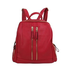 58829- Wholesale Front Zip Fashion Backpack