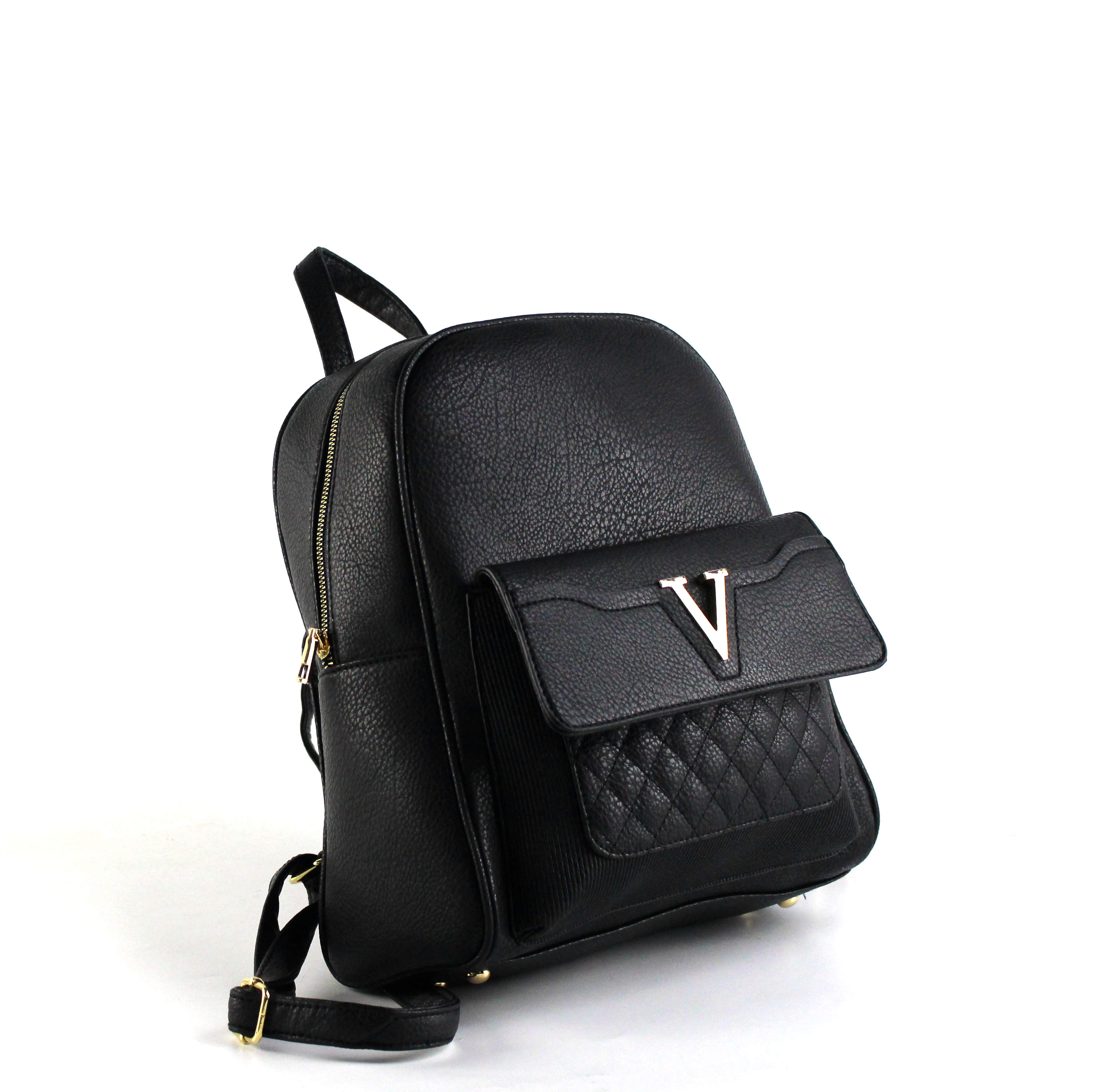 7801 - Wholesale Fashion Backpack with Front Flip Pocket