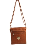 2056-87- Double Zip Cross-body