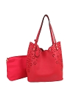 28970-Wholesale Perforated 2-IN-1 Tote