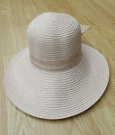 39099-6 - Wholesale Bow Knot Decor Straw Hat