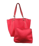 58807 - Wholesale 2-in-1 Stitched Convertible Tote Handbag
