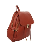 7288 - Wholesale Flap Clasp Fashion Backpack