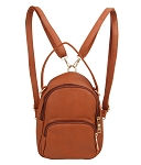 7313-Wholesale Convertible Backpack To Cross-body Bag