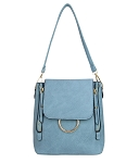 7323 - Wholesale Flap Fashion Cross Body and Backpack