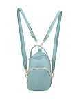 7904- Convertible Backpack To Cross Body