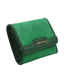 9881 - Wholesale Women Tri-Fold Diamond Pattern Wallet