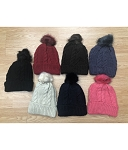 HW2922 - Wholesale Cable-Stitched Winter Hat