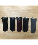 HW2964 - Wholesale Woman Velvet Gloves With Touch Tips
