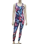 LY1478 - Floral Print Activity Wear Set