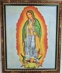 LG 01-Wholesale Canvas Painting of  Lady of Guadalupe (Small Size)