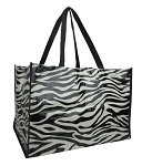 ZQ2005 - Wholesale Zebra Printed Shopping Bag
