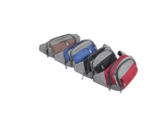 273-Wholesale Canvas Fanny Pack 10 Piece Bundle