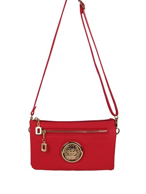 510 - Wholesale Crossbody Clutch with Emblem