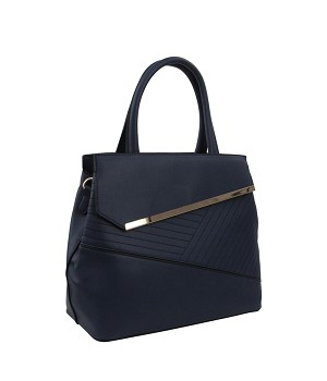 58832 - Wholesale Bar Accent Satchel Handbag