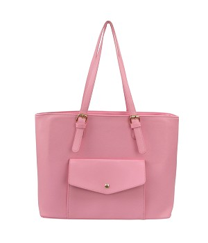 7229 - Wholesale Snap Pocket Tote Shoulder Bag