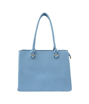 7278 - Wholesale Embossed Tote Shoulder Bag