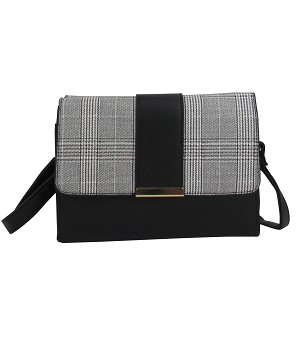 7316-Plaid Cross-body
