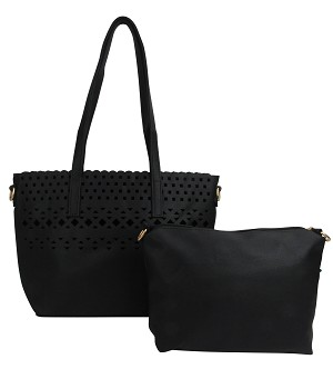 7350 - Wholesale Perforated 2-IN-1 Tote