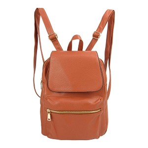7901-Wholesale Fashion Backpack with Magnetic Flap Closure