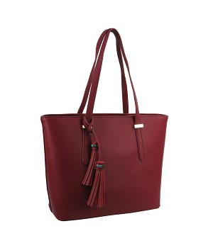 HL2410 - Wholesale Tote Purse with Tassels