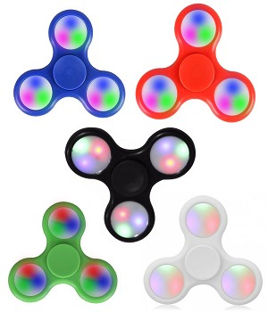 Fidget Spinners-LED Solid