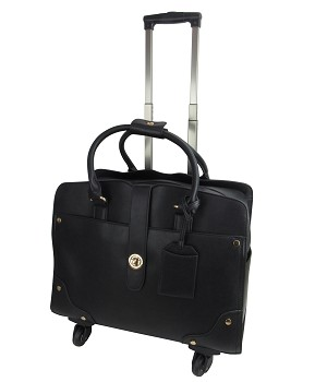 AR1035 - Wholesale Carry-On Rolling Classic Luggage Bag