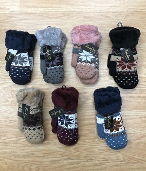 HW3031 - Wholesale Warm Mitten With Touch Tips