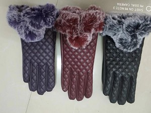 HW3074 - Wholesale Quilted Woman Gloves With Touch Tips
