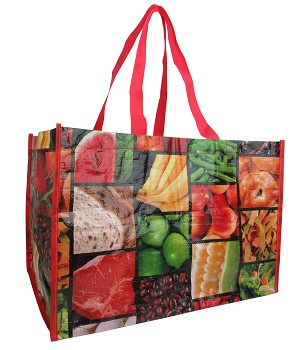 ZQ2003 - Wholesale Vegetable Printed Shopping Bag